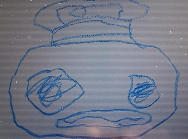 ガラピコの絵