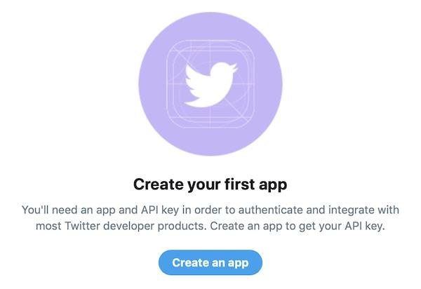 TwitterDeveloper認証完了画面