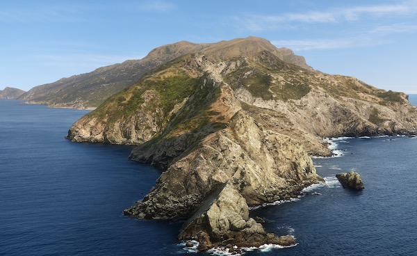 昼のカタリナ島